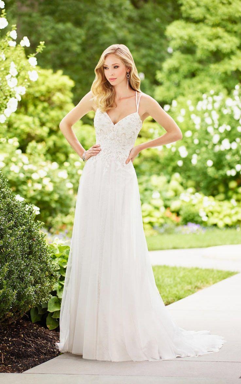 Enchanting by Mon Cheri 118131 Lace Destination Wedding Dress ...