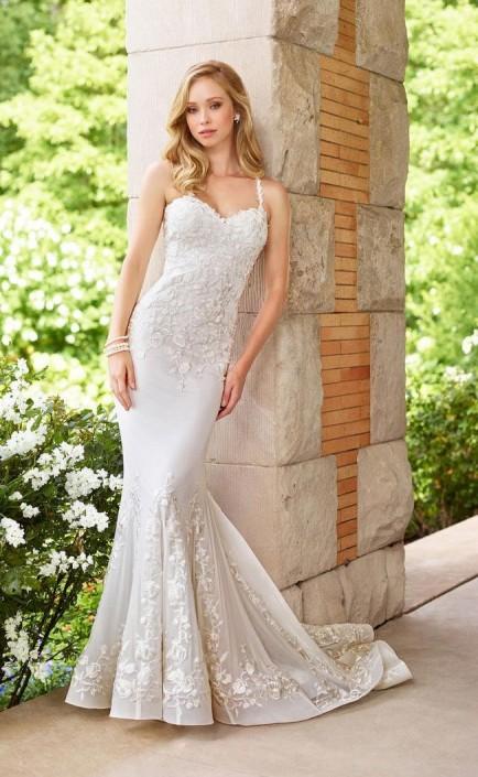 0837c9a85a59 Enchanting by Mon Cheri 118152 Mermaid Informal Wedding Dress: French  Novelty