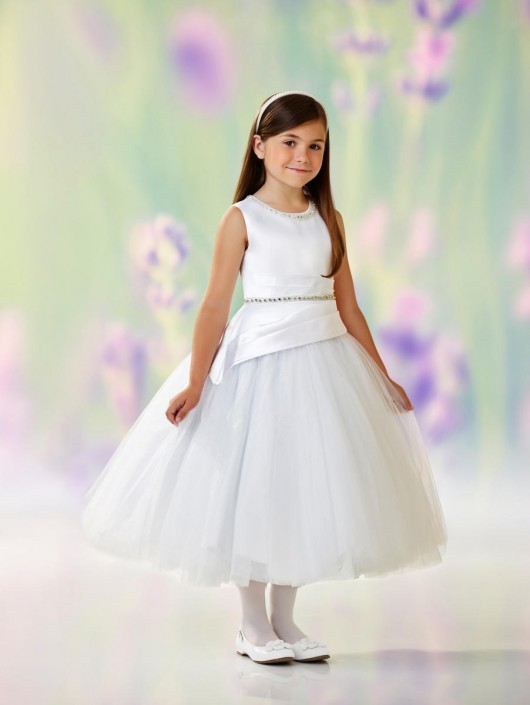 781d2c7461b Joan Calabrese 118317 Adorable Flower Girls Dress  French Novelty