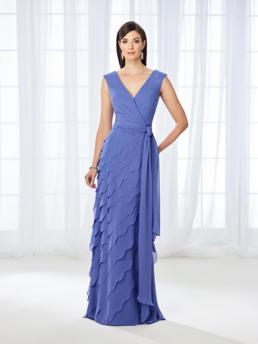 74f62d8d5955 Cameron Blake 118668 Flattering Mother of the Bride Dress: French Novelty