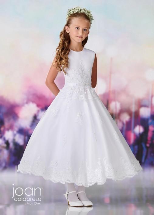 e053860cff4 Joan Calabrese by Mon Cheri 119377X Half Size Flower Girls Dress
