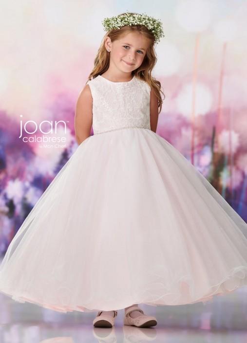 f6125623b31 Joan Calabrese by Mon Cheri 119393X Half Size Flower Girls Dress  French  Novelty