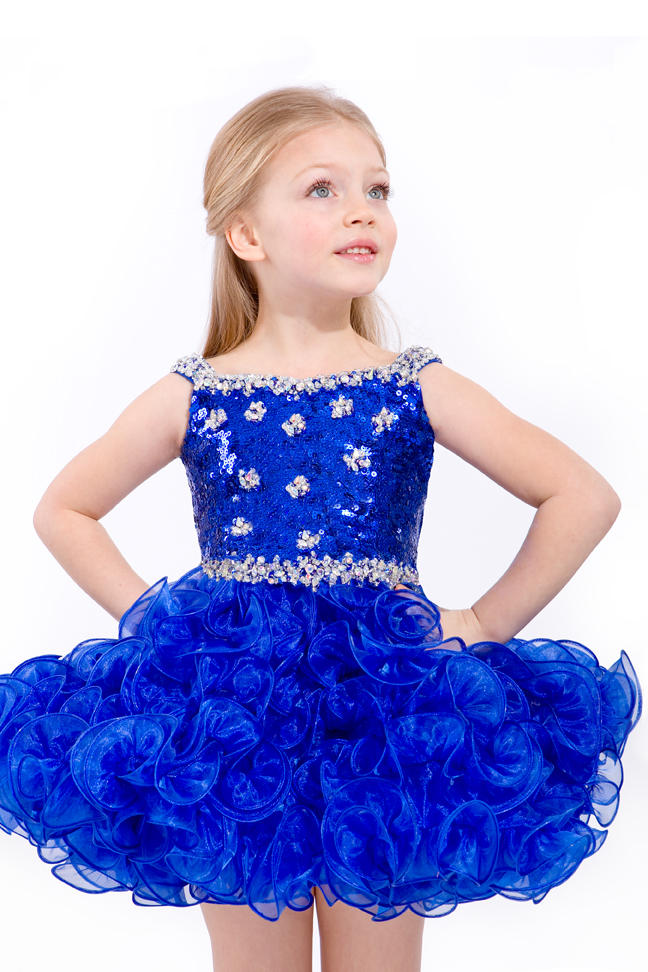 Party Time Perfect Angels 1205 Toddler Girls Beaded Pageant Dress ...