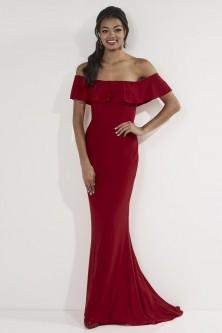 06d9d27ef33 Studio 17 12727 Off Shoulder Ruffle Prom Dress