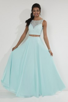 a80020201f2 Studio 17 12728 Beaded Lace 2 Piece Prom Dress