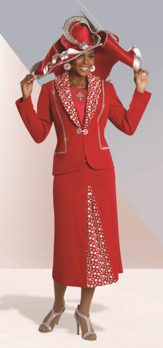 dbdd13d6f2a Donna Vinci Knits 13058 Three Piece Church Suit  French Novelty