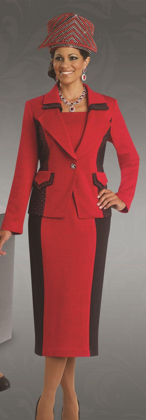ed137ec3836 Donna Vinci 13102 Womens Knit Church Suit  French Novelty