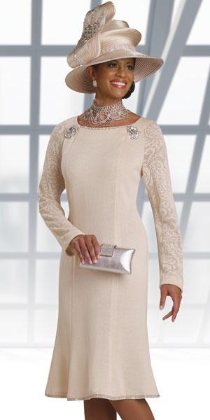 Donna Vinci Knits 13128 Long Sleeve Knit Church Suit
