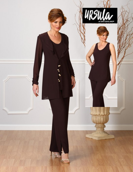 30a9aee61a71 Ursula of Switzerland 13212 Mother of the Bride Pantsuit: French Novelty