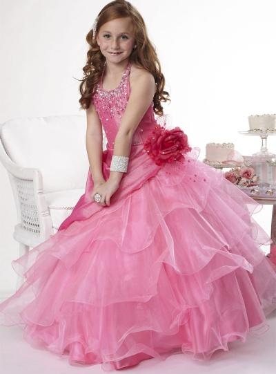 Tiffany Princess Girls Pageant Dress 13295: French Novelty