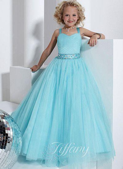 Tiffany Princess 13315 Girls Pageant Dress French Novelty