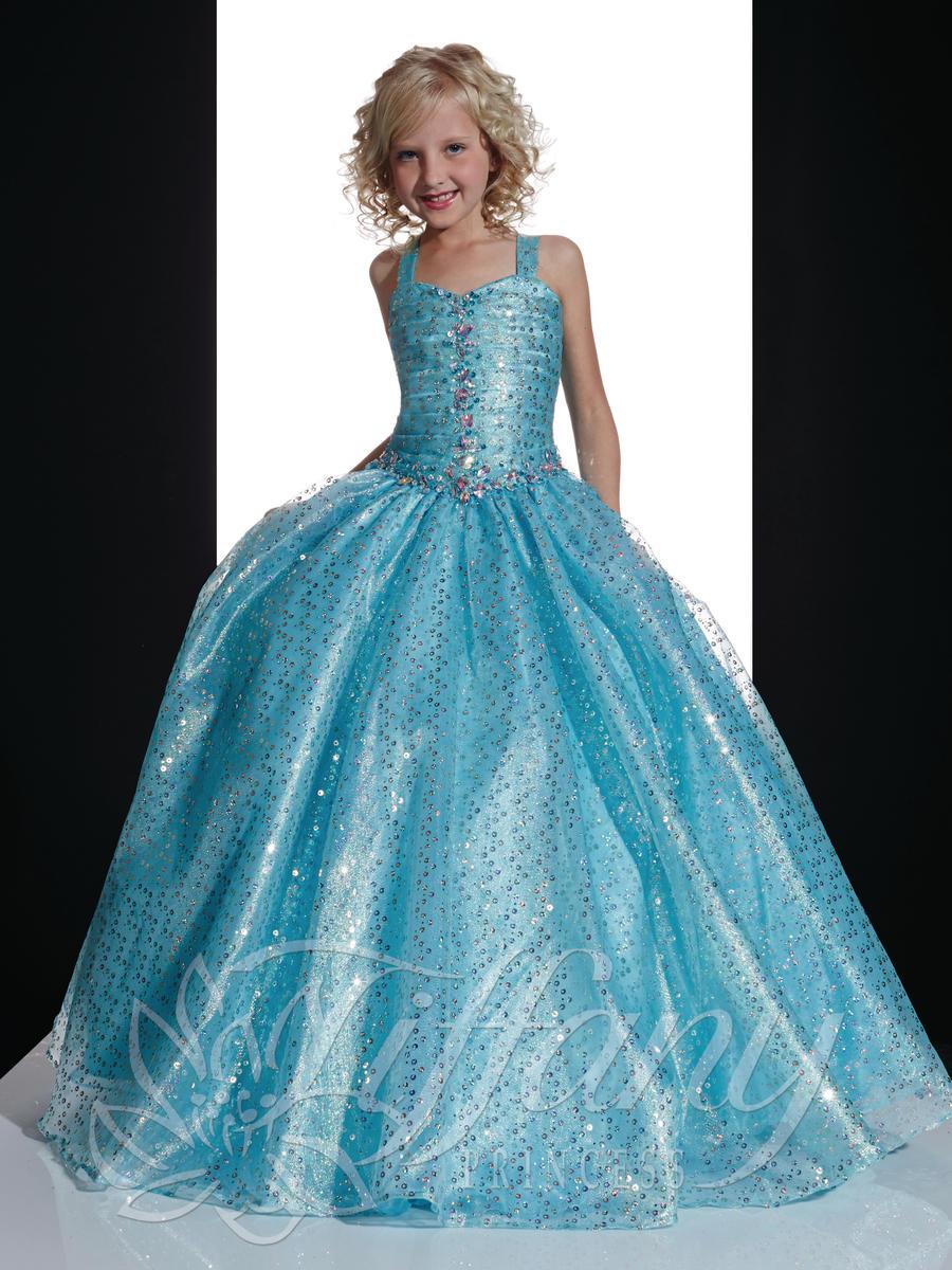 Tiffany Princess 13354 Little Girls Pageant Dress: French Novelty