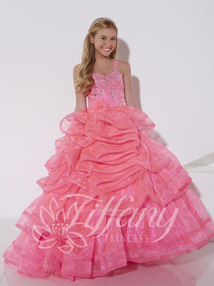 Tiffany Princess 13394 Girls Ball Gown: French Novelty