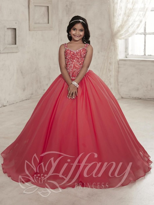 Tiffany Princess 13453 Girls Princess Gown: French Novelty