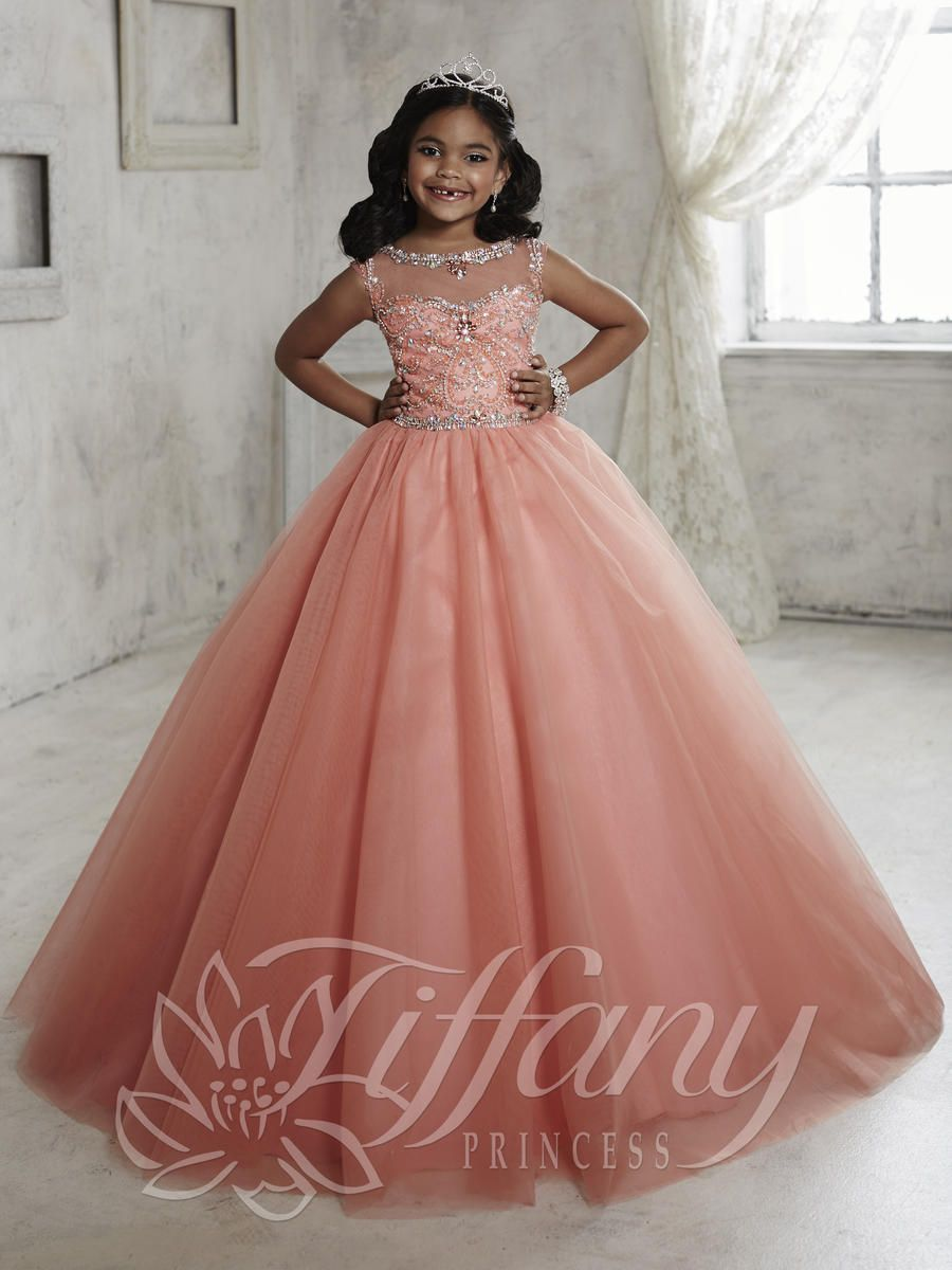 Tiffany Princess 13455 Girls Princess Dress French Novelty