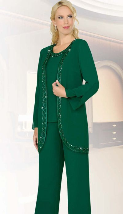 Wonderful Evening Pantsuit Women  Capri Pant Set  Womens Suits  Premiere