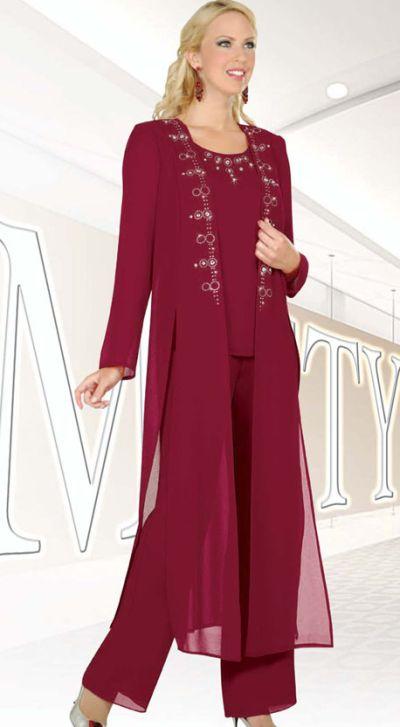 Ben marc misty lane evening pantsuit with duster 13477 Wedding guest dress etiquette uk