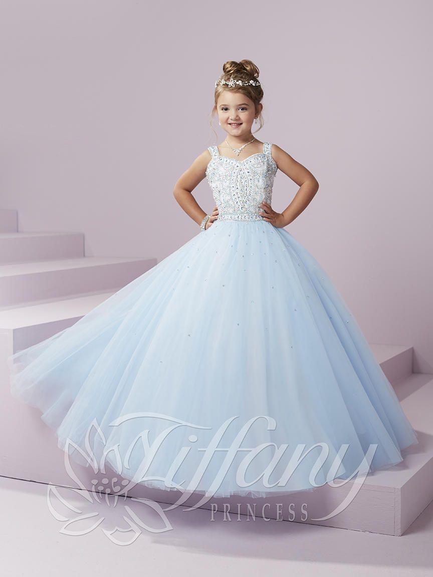 Tiffany Princess 13494 Girls Timeless Pageant Dress
