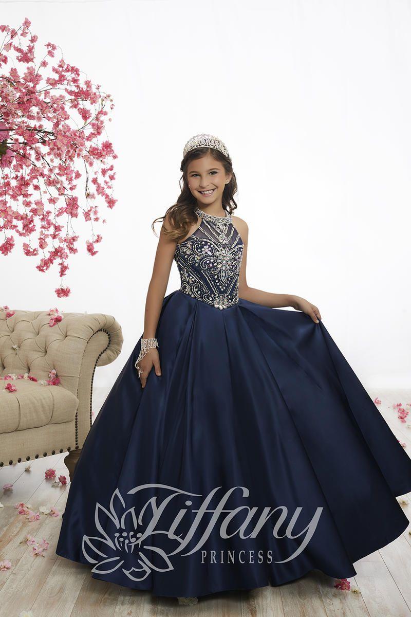 Tiffany Princess 13528 Girls Princess Pageant Dress