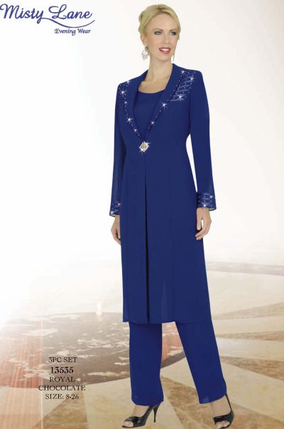 Misty Lane 13535 By Ben Marc 3pc Pant Suit For Mothers Of