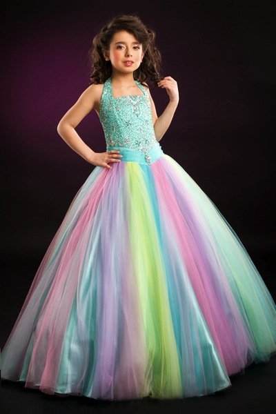 party dresses for women on Tulle Perfect Angels Girls Pageant Dress 1366 By Party Time Image