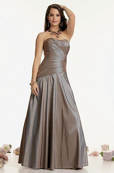 Jordan Couture Iridescent Corset Back Long Bridesmaid Dress 1409 ...