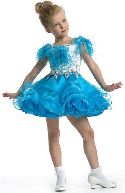 Organza Pageant Dress