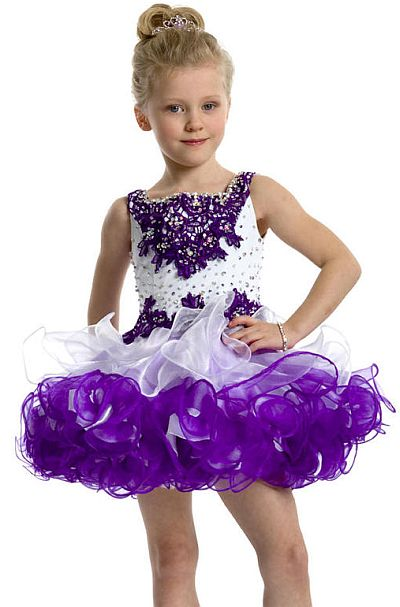 Perfect Angels 1461 Organza and Lace Toddler Girls Pageant Dress ...