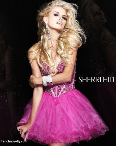 Sherri Hill Prom Dresses 2012 Short Prom Dress 1466