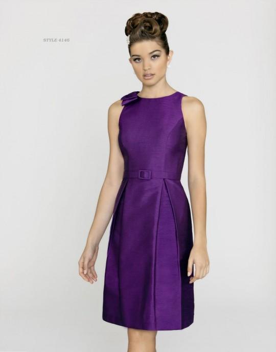bcae843e75e Alexia Designs 146L Long Shantung Bridesmaid Dress  French Novelty