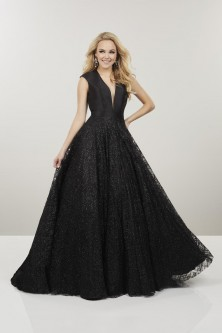 2983b299604d Panoply 14911 Mikado and Glitter Prom Gown