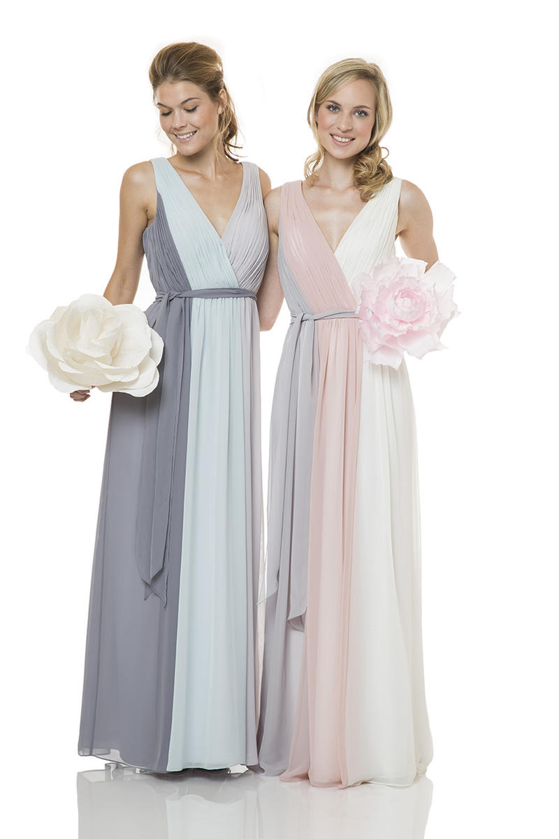 Bari jay 1501 3tone draped bridesmaid dress french novelty ombrellifo Image collections