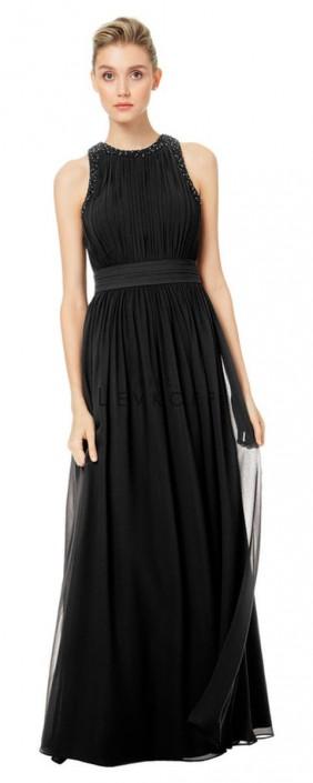 caca801235 Bill Levkoff 1509 Beaded Chiffon Bridesmaid Dress  French Novelty