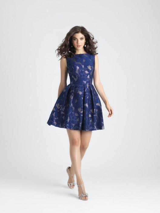 Allure 1517 short brocade bridesmaid dress french novelty allure 1517 short brocade bridesmaid dress junglespirit Choice Image