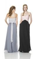 Bari Jay 1517-M Two Tone Maternity Bridesmaid Gown image