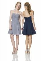 Size 14 Shadow Bari Jay 1527 Short Bridesmaid Dress image