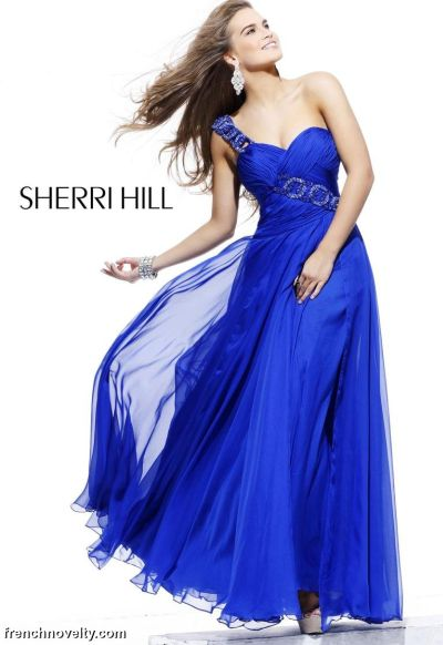 Sherri Hill Royal Blue...