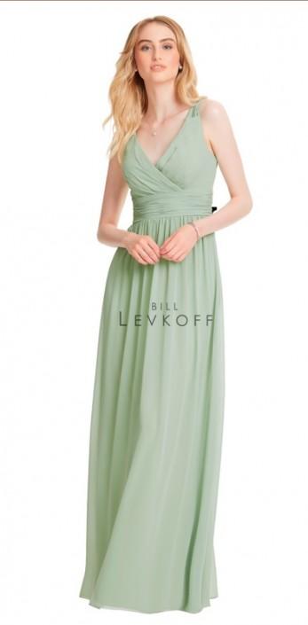 c74aa17e3de Bill Levkoff 1553 Surplus Chiffon Bridesmaid Dress  French Novelty