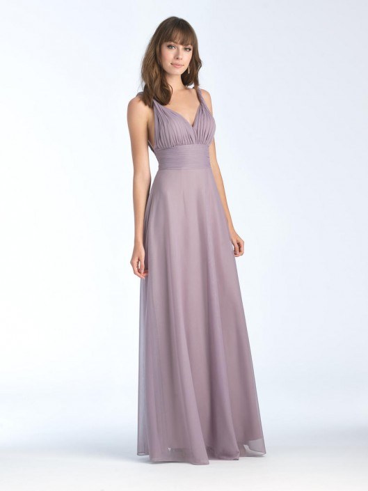 Allure 1568 Grecian Twisted Strap Bridesmaid Dress: French Novelty