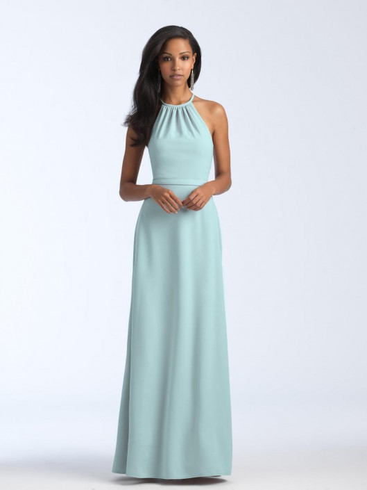 a247f90681 Size 14 Light Green Allure 1570 Stretch Crepe Bridesmaid Dress: French  Novelty
