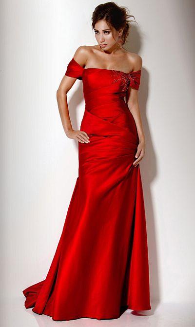 Jovani Evening Dresses Red