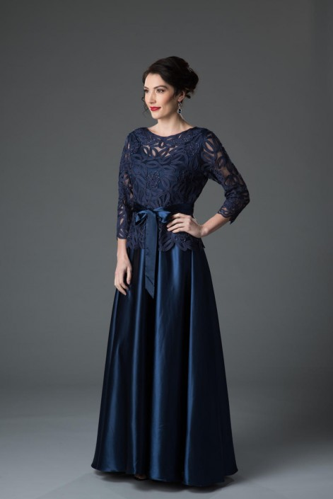 Soulmates 1601 Mother of the Bride Elegant Gown: French Novelty