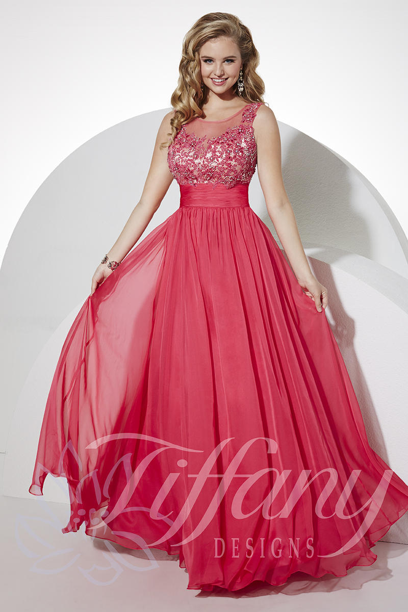 Tiffany Designs 16110 Fairy Tale Lace Gown: French Novelty