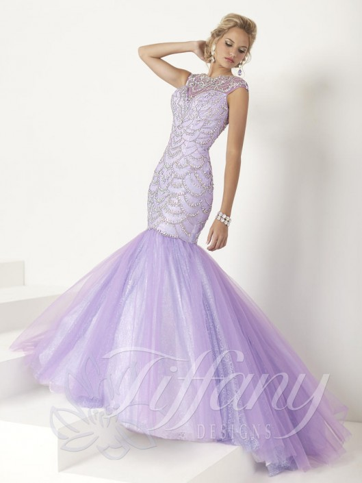 Tiffany Mermaid Prom Dress