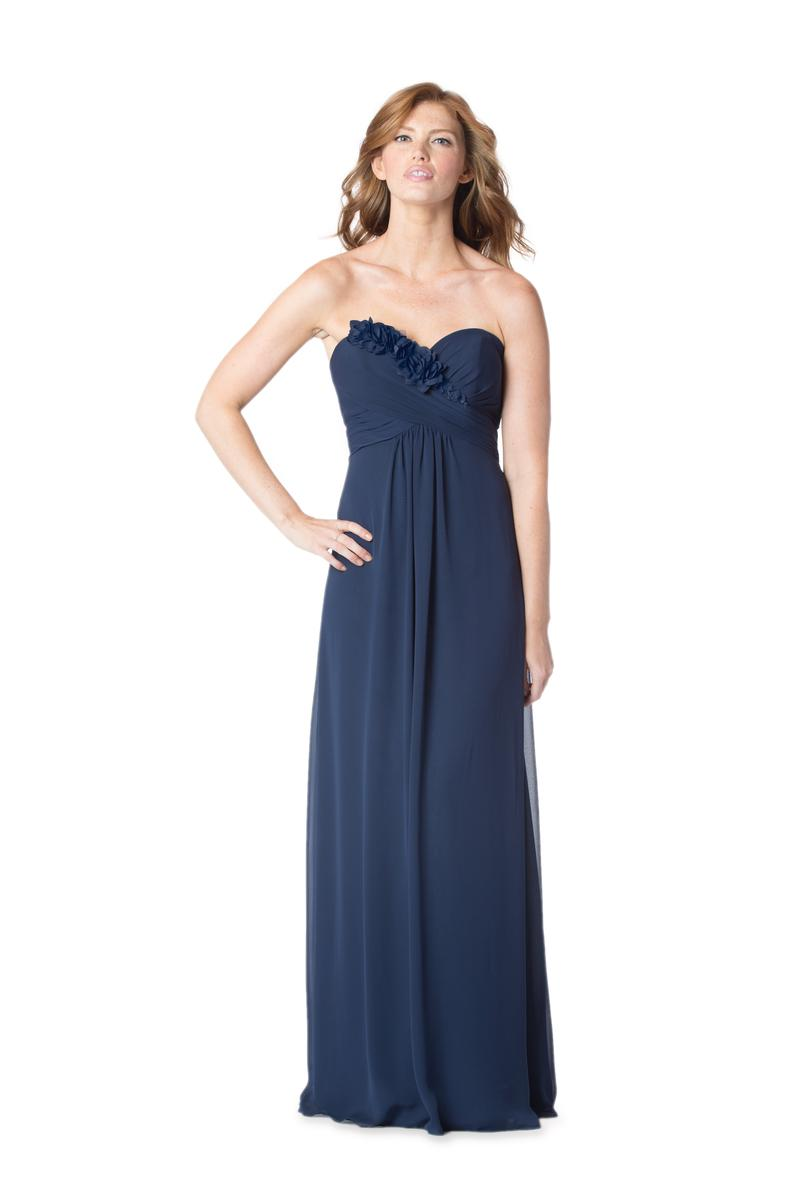 Bari jay 1616 bridesmaid gown with flowers french novelty for Immediate resource wedding dresses