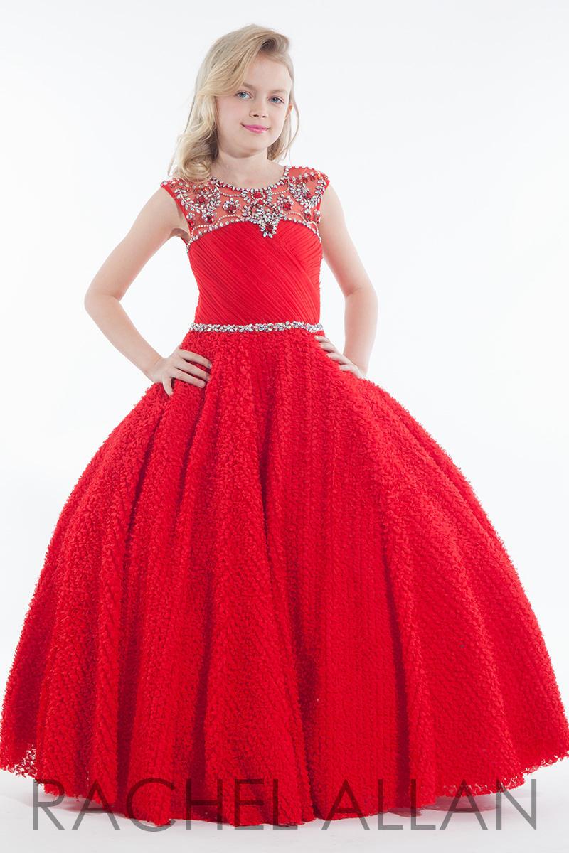 Rachel Allan Perfect Angels 1620 Girls Pageant Dress