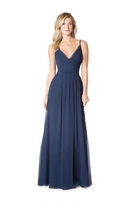 9cd52a0864a Bari Jay 1622 Bridesmaid Gown with Sheer Side Panels  French Novelty