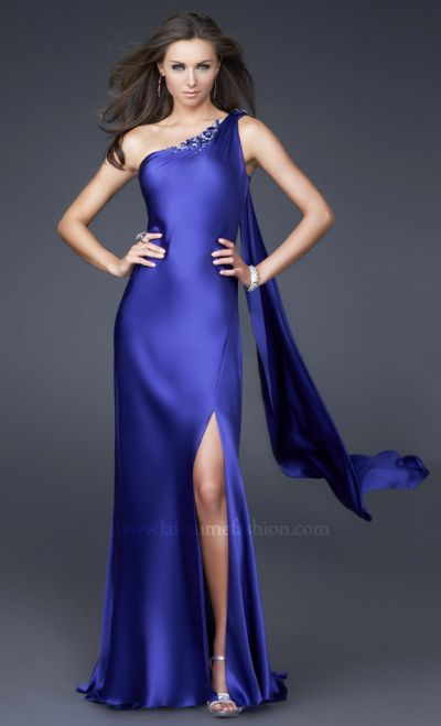 Dancing With The Stars By La Femme Sequin Flower Prom
