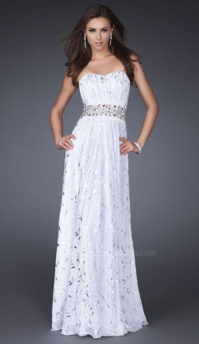 Silver Chiffon Dresses
