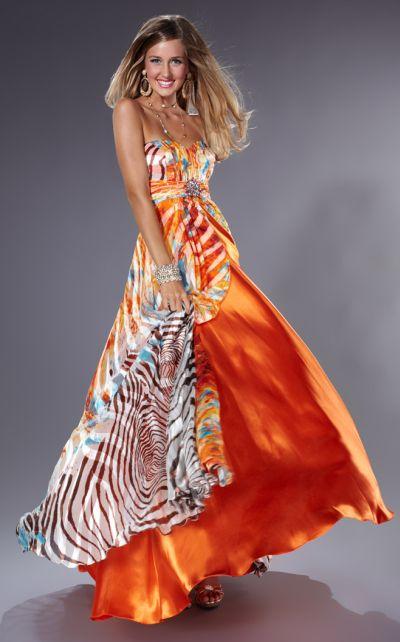 Animal Print Dress Designs